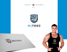 Ф1тнес / логотип спортзала