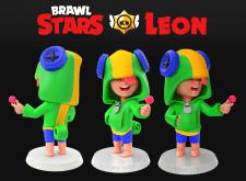 Brawl Stars. Leon