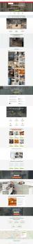 Дизайн сайта компании-производителя мебели