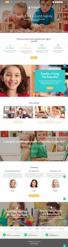 Дизайн детского сайта