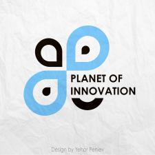 Planet of innovation - логотип - 2019
