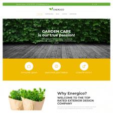 Настройка шаблона WordPress для ландшафтный дизайн
