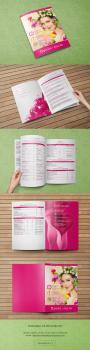 Дизайн прайс-листа по бьюти-услугам
