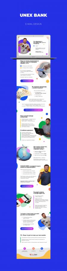 Unex Bank / Email Design