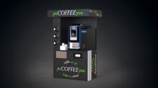 Кофейный аппарат(визуализация, раскрой материалов)