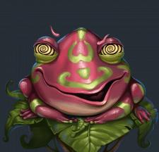 Гипно-жаба.
