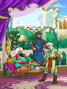 иллюстрация к восточным сказкам