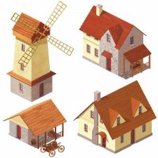Игровые элементы Дома 2