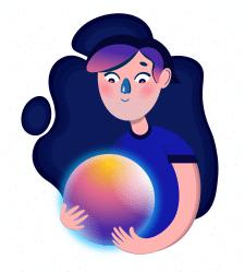 Мальчик с магическим шаром