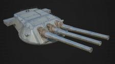 Yamato`s turret