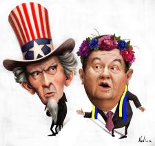 Карикатура. Янукович.