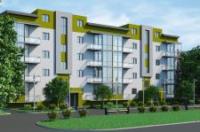 3D моделирование и визуализация жилого комплекса