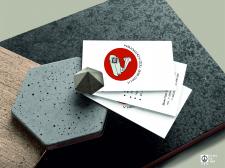 Логотип и визитка для монтажника видеонаблюдения
