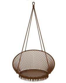 3D модель плетеной качели