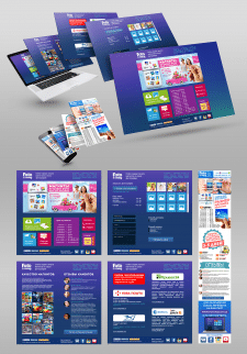 Дизайн сайта сервиса печать фотомагнитов
