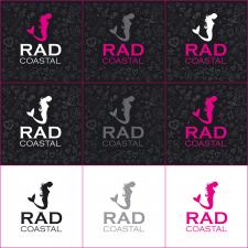 разработка лого для RAD Coastal
