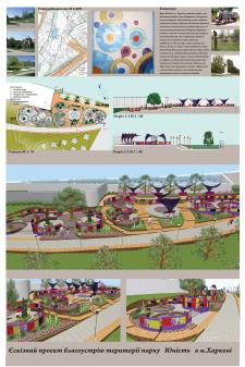 Проект благоустройства территории парка Юность