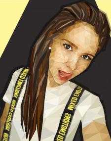 Полигональный портрет