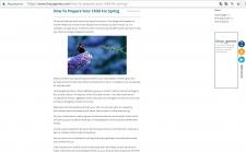 Рерайт статей на английском для блога