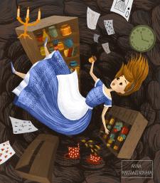 Алиса в стране чудес 2