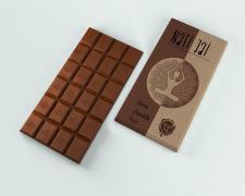 Дизайн коробки для шоколаду