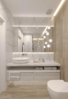 Дизайн гостевого санузла