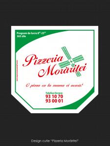 Дизайн упаковки для Pizza
