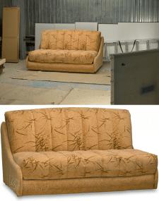 Обтравка дивана