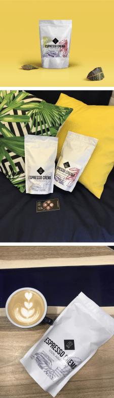 Упаковка кофе для кофейни