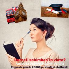 Баннера для университета в Лондоне (для FB)