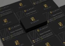 """Новый Логотип и Визитка для нашей студии """"Vlachi"""""""
