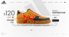 Вёрстка адаптивного сайта, тема - кроссовки