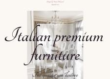 Сайт для премиальной итальянской мебели на заказ