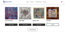 Simple online store for Art Gallery