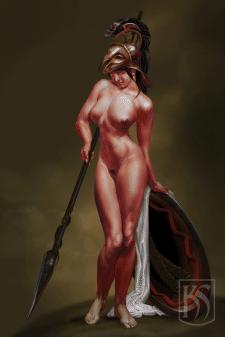 Юная Афина