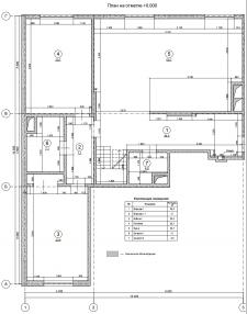 Разработка плана этажа