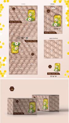 Упаковка для многоразовой пищевой beeswax wrap
