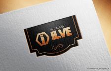 ILVE отрисовка логотипа