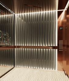 Дизайн интерьера лифта