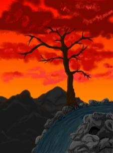 Горное дерево