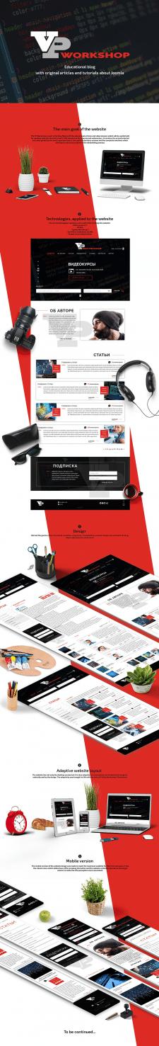 Дизайн и оформление презентации сайта