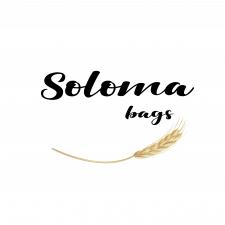 Логотип для сумок из соломы
