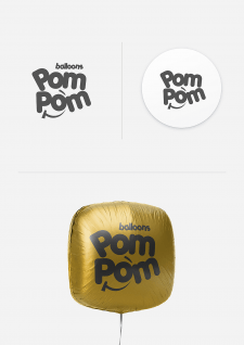 Логотип PomPom