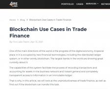 Blockchain Use Cases in Trade Finance