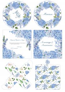 Дизайн свадебной полиграфии