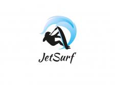 """Логотип """"JetSurf"""""""