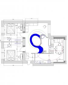 Проектировка квартиры, освещение, планировка 2