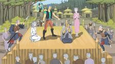 Иллюстрация для новеллы в аниме-стиле