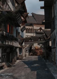 Улица средневековья