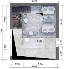 Зимовий сад в готельному комплексі на вул.Вороного